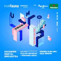 Unknown Mortal Orchestra + Felix da Housecat Sala Omnium - Las Condes