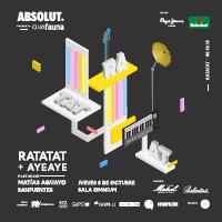 Ratatat y Ayeaye en Club Fauna Sala Omnium - Las Condes