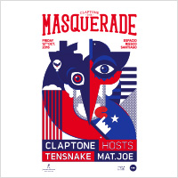 Claptone Presents The Masquerade Expocenter - Espacio Riesco - Santiago