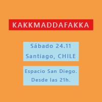 Kakkmaddafakka en Chile Espacio San Diego - Santiago