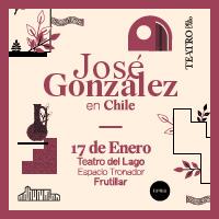 José González + Erlend Øye Teatro del Lago, Frutillar - Frutillar