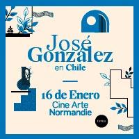 José González + Erlend Øye Cine Arte Normandie - Santiago
