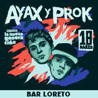 Ayax y Prok Bar Loreto - Recoleta