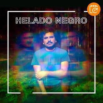 Helado Negro Sala Metrónomo - Santiago