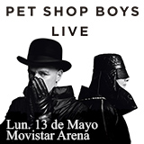 Pet Shop Boys Movistar Arena - Santiago