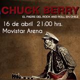 Chuck Berry Movistar Arena - Santiago