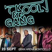 Kool and The Gang Gran Arena Monticello - San Francisco de Mostazal