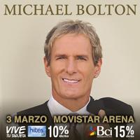 Michael Bolton Movistar Arena - Santiago