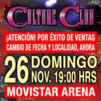 Culture Club Movistar Arena - Santiago