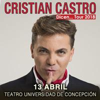Cristian Castro Teatro Universidad de Concepción - Concepción