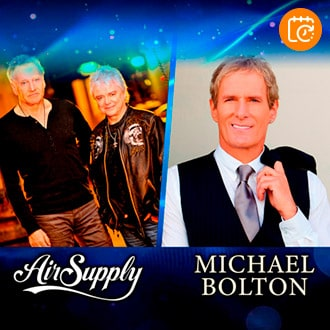Michael Bolton y Air Supply | Movistar Arena
