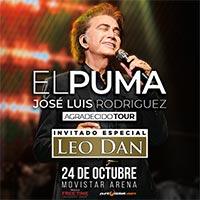 El Puma - Jose Luis Rodriguez-Leo Dan | Movistar Arena | 24 de octubre 2020