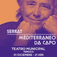 Joan Manuel Serrat Teatro Municipal de Temuco - Temuco