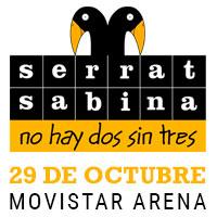 Serrat y Sabina Movistar Arena - Santiago