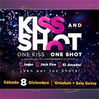 Kiss & Shoot Sala Gente + Sala Omnium - Las Condes
