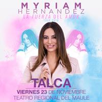 Myriam Hernández Teatro Regional del Maule - Talca