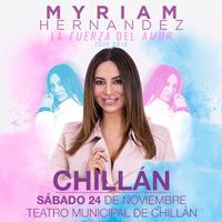 Myriam Hernández Teatro Municipal de Chillán - Chillán