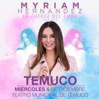 Myriam Hernández Teatro Municipal de Temuco - Temuco