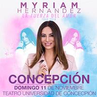 Myriam Hernández Teatro Universidad de Concepción - Concepción