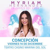Myriam Hernández Teatro Casino Marina del Sol - Talcahuano