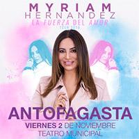 Myriam Hernández Teatro Municipal de Antofagasta - Antofagasta