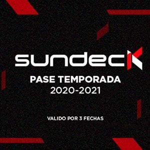 Pase de Temporada - Sundeck - - Santiago