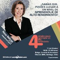 Conferencia Nora Beltran Co-work Bridge - Vitacura