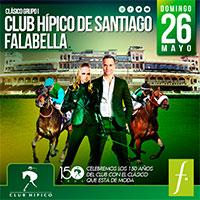 Clásico Grupo 1 Club Hípico de Santiago - Falabella Club Hípico - Santiago