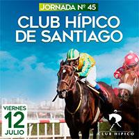 Jornada N° 45 Club Hípico - Santiago