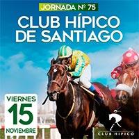 Jornada N° 75 Club Hípico - Santiago