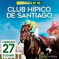Jornada N°85 Club Hípico - Santiago