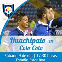 Huachipato vs. Colo-Colo Estadio Ester Roa - Concepción - Concepción