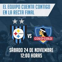 Huachipato vs. Colo-Colo Estadio CAP Talcahuano - Talcahuano
