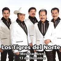 Los Tigres del Norte Movistar Arena - Santiago