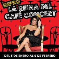 La Reina del café concert Teatro Coca-Cola City - Providencia