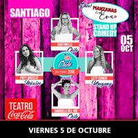 Manzana de Eva Teatro Coca-Cola City - Providencia