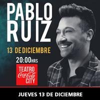 Pablo Ruiz Teatro Coca-Cola City - Providencia