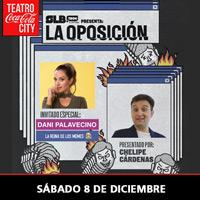 """Show SLBtech """"La Oposición"""" Daniela Palavecino Teatro Coca-Cola City - Providencia"""