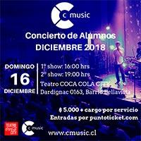 CONCIERTO CMUSIC Teatro Coca-Cola City - Providencia