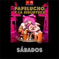 Papelucho y la biblioteca Teatro Coca-Cola City - Providencia