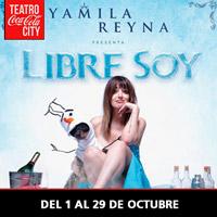 Yamila Reyna Teatro Coca-Cola City - Providencia