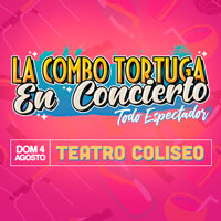 Concierto La Combo Tortuga Teatro Coliseo - Santiago