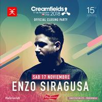 La Feria presenta: Enzo Siragusa Official Creamfields  La Feria - Providencia