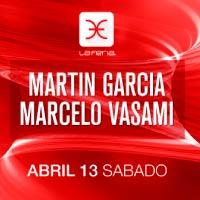 Martín García, Marcelo Vasami: La Feria La Feria - Providencia