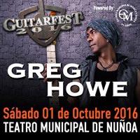 GUITARFEST 2016 Teatro Municipal de Ñuñoa - Ñuñoa