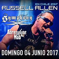 Russell Allen en Chile 2017 Club Amanda - Vitacura