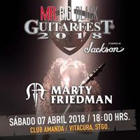 Mr. Big Black Guitarfest 2018 Club Amanda - Vitacura
