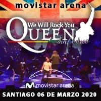 Queen Sinfónico Movistar Arena - Santiago