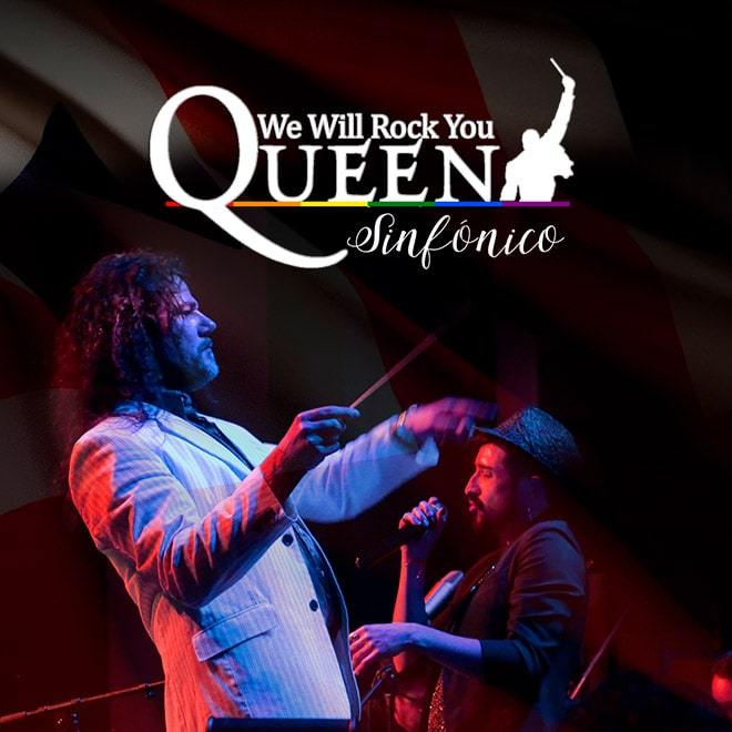 Queen Sinfónico Streaming Punto Play - Santiago