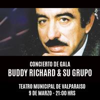 "Concierto de gala ""Buddy Richard & su grupo"" Teatro Municipal de Valparaíso - Valparaíso"